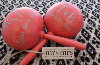 Los Cabos Wedding Maracas