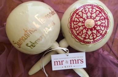 Wedding Maracas