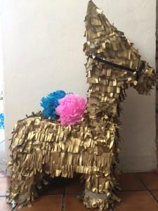 Donkey Piñata Gold
