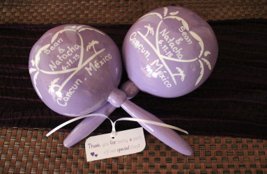 Maracas for Weddings