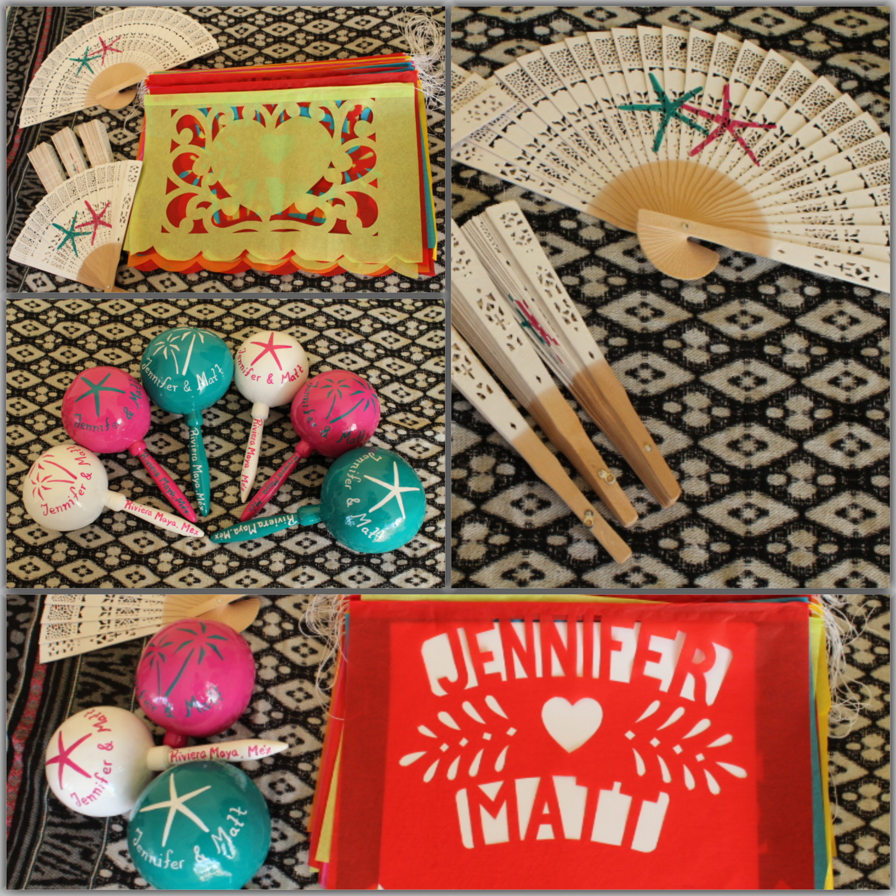 Wedding Favors: Wedding Maracas Designs